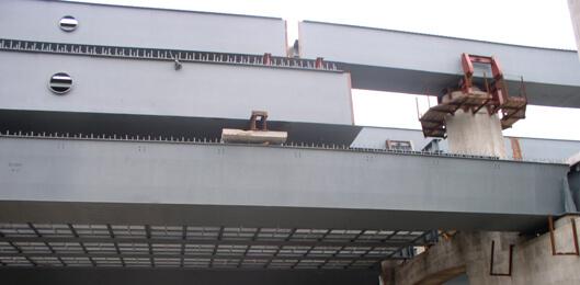 Металлоконструкции моста