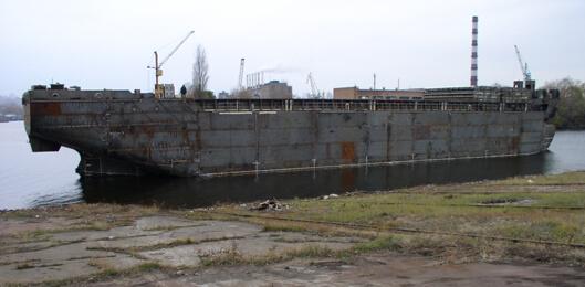 Корпус суховантажного судна