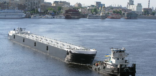 Корпус судна проекту CT207-2