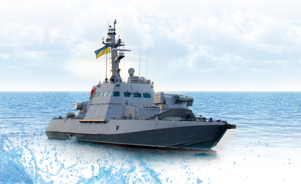 """Armored artillery boat """"GYURZA-M"""""""
