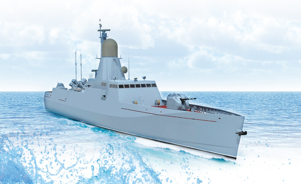 "Fast attack missile boat (FAMB) ""VESPA"""
