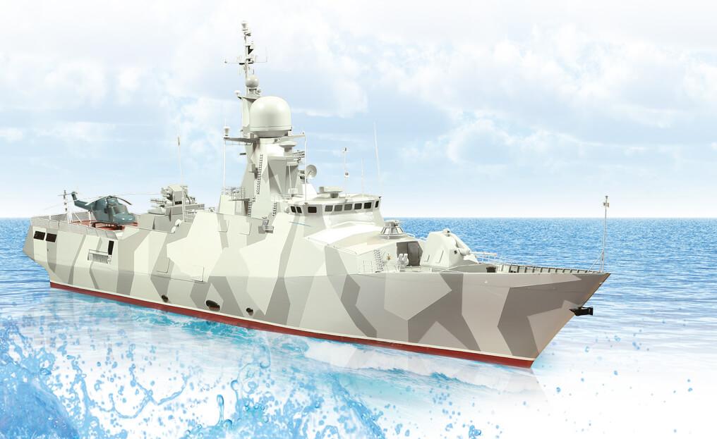 """Multipurpose fast corvette """"GAYDUK"""""""